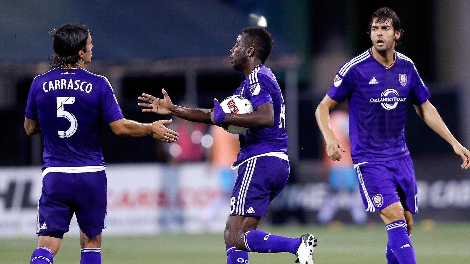 Orlando City notches 2 second-half goals to tie Columbus Crew