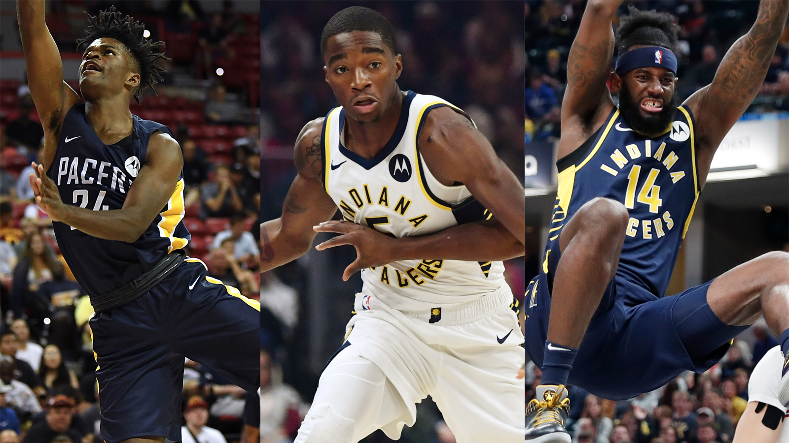 Pacers assign Johnson, Sampson and Sumner to Fort Wayne