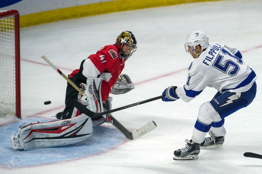 Tampa Bay Lightning F Valtteri Filppula Is Making A Name For Himself This Season