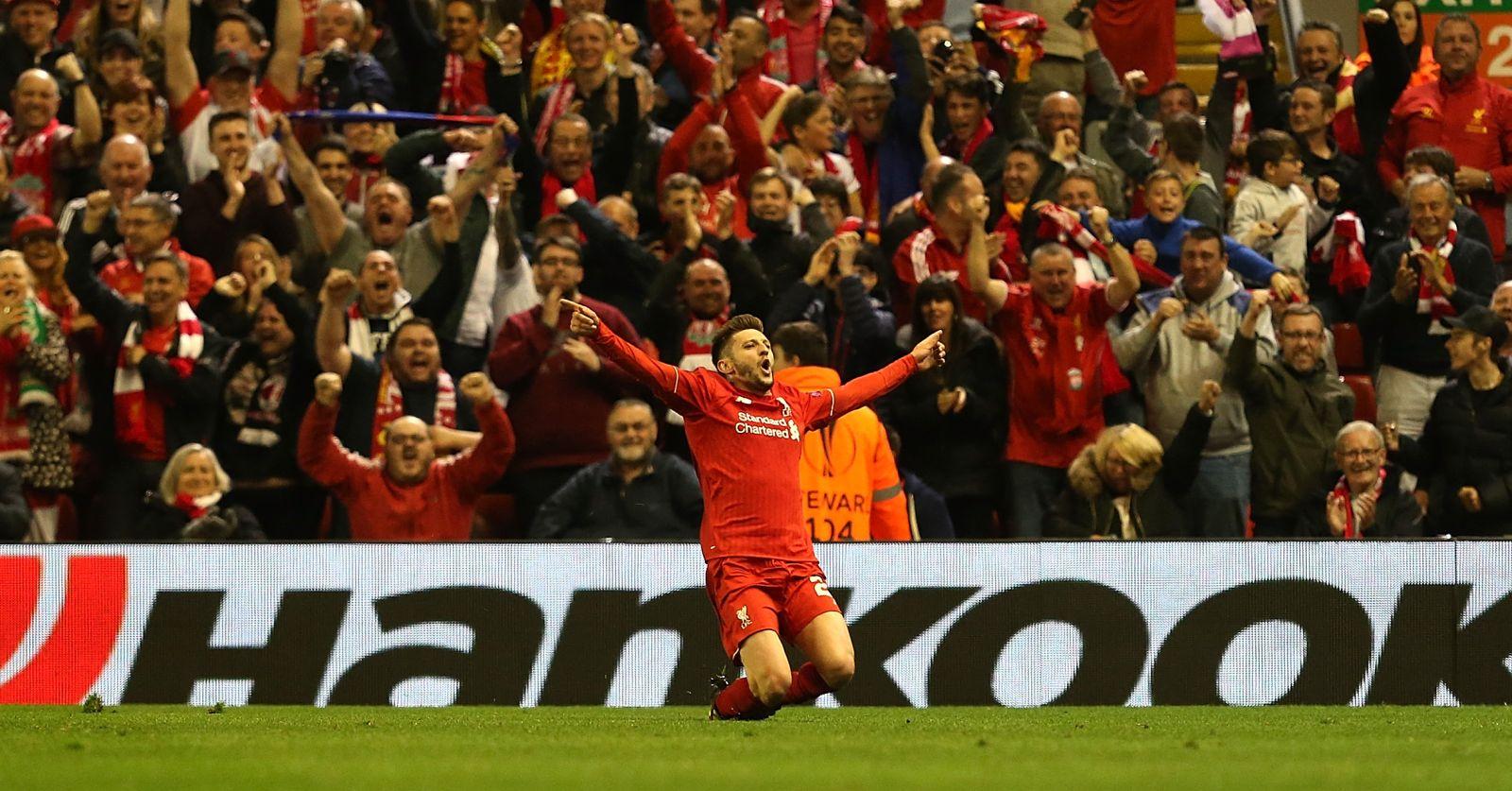 Tottenham plan $28.8m move for Liverpool midfielder Lallana