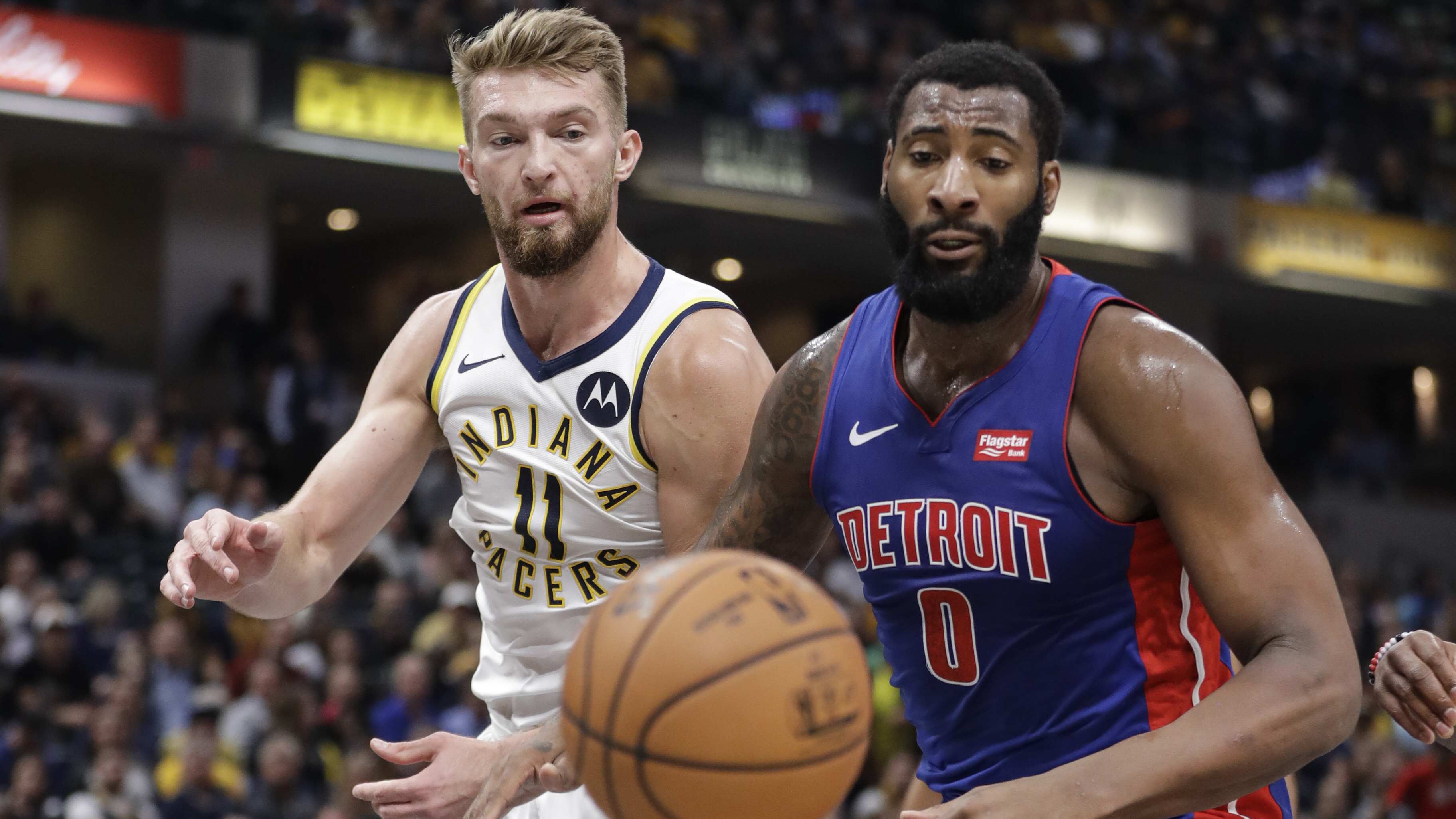 Pacers can't contain Drummond, fall 119-110 to Pistons in season opener