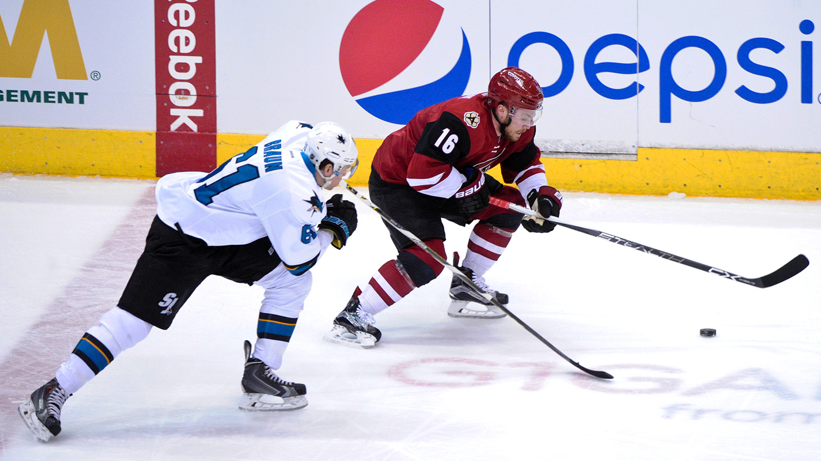 Coyotes searching for winning mix as Sharks pay a visit