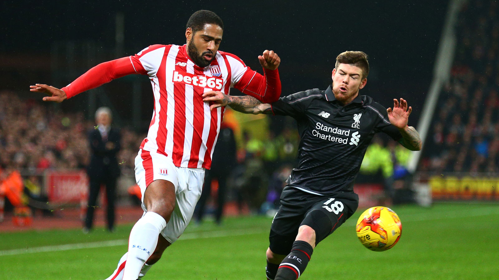 Stoke can still trouble Liverpool, says Johnson
