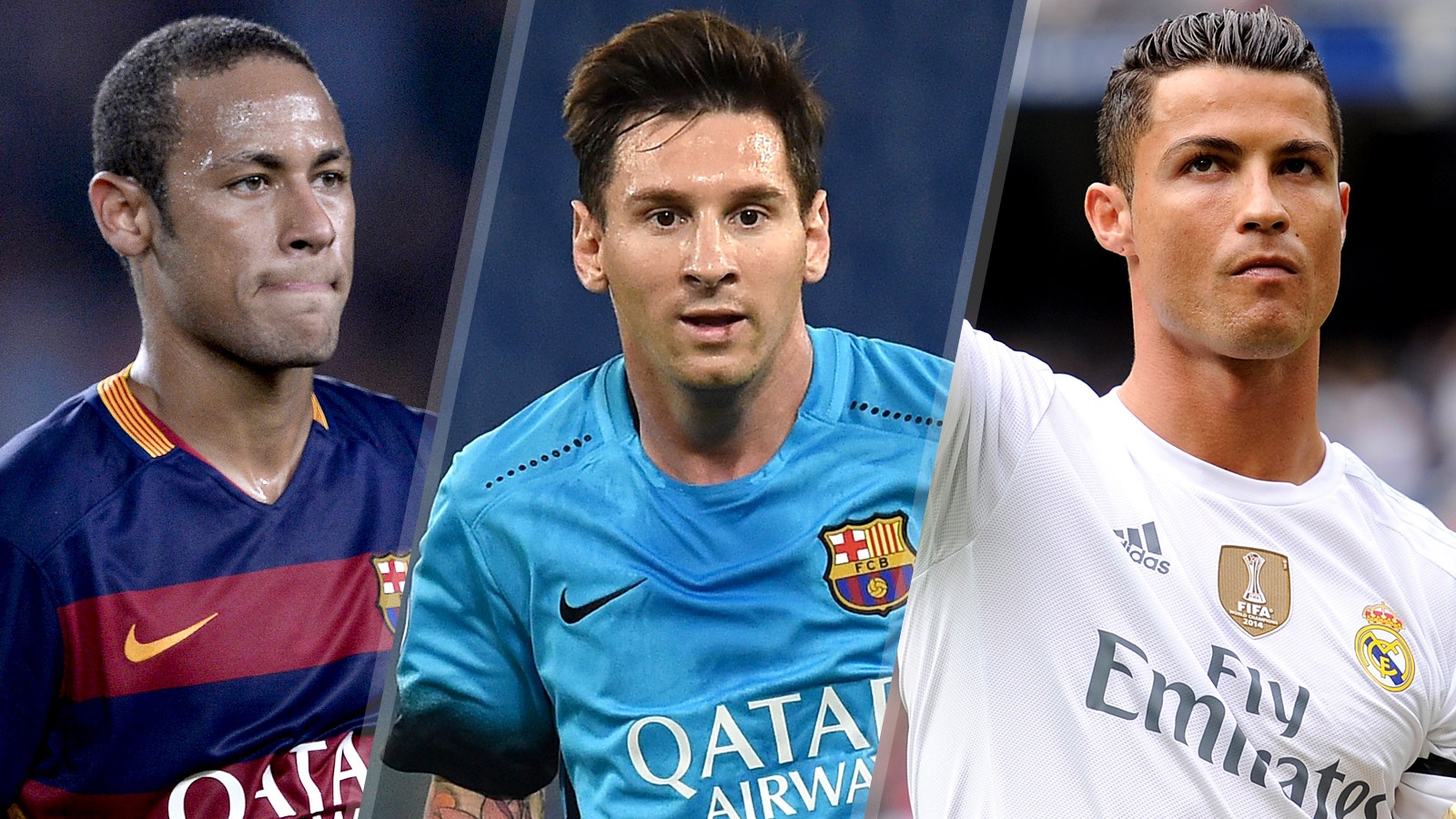 Messi, CR7, Neymar lead 23-player shortlist for Ballon d'Or