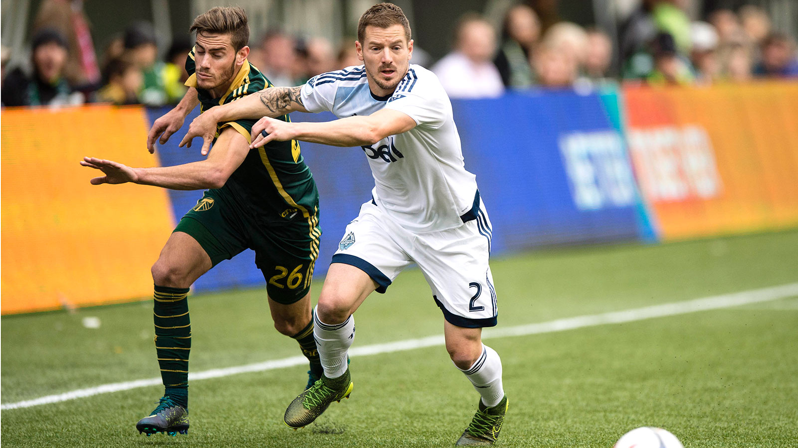 Timbers, Whitecaps open West semi with goalless draw