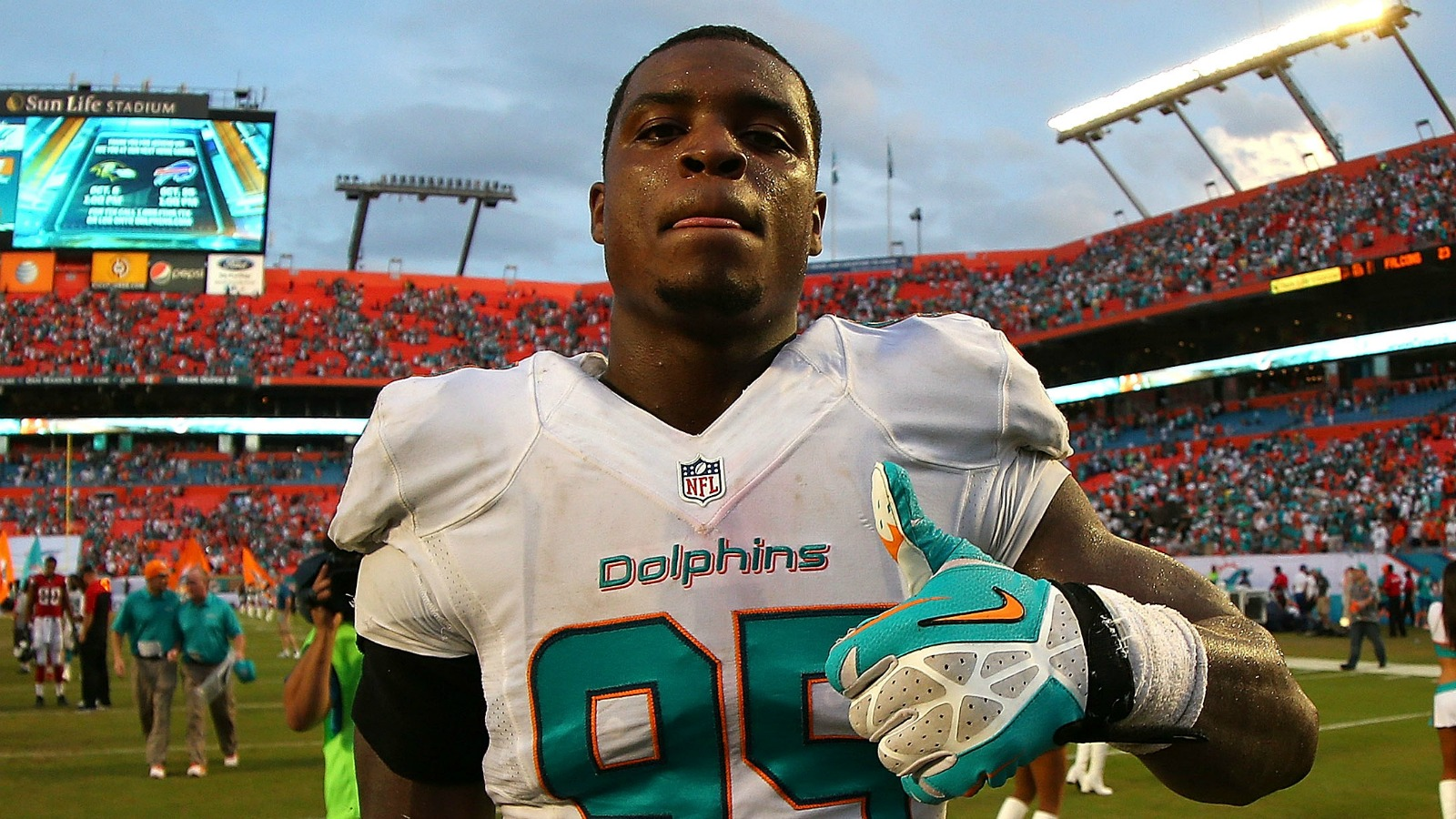Dolphins DE Dion Jordan is reinstated on a conditional basis