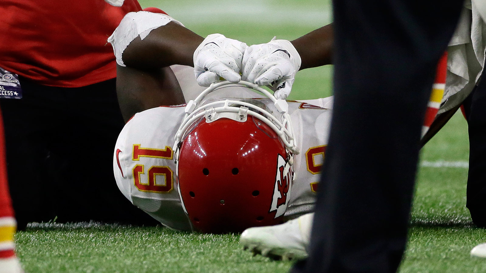 Maclin (ankle) remains in limbo as Chiefs prepare for Patriots