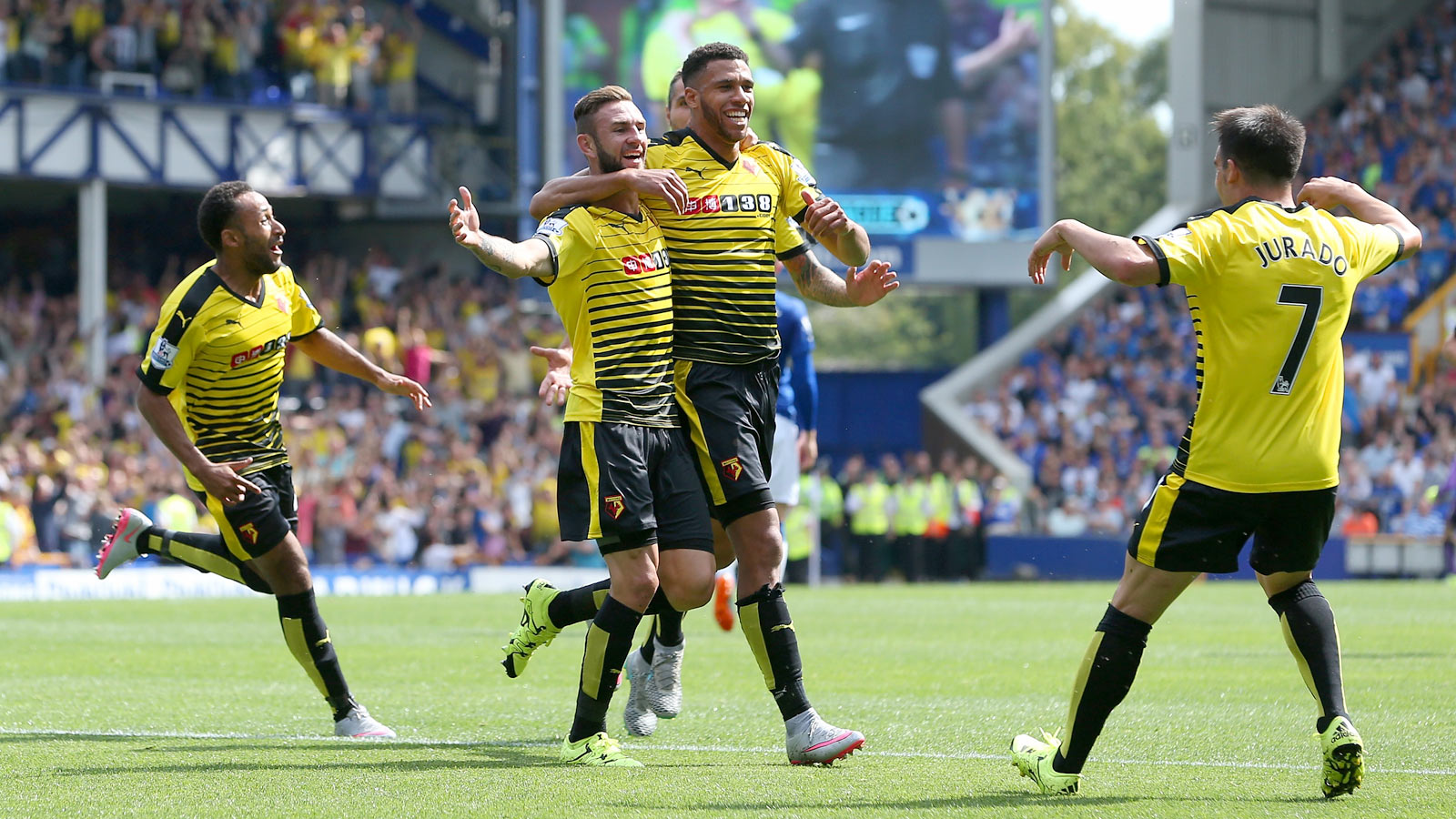 Premier League newcomers Watford earn draw at Everton
