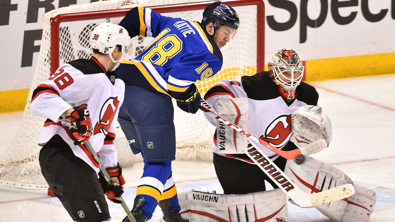 Blues recall Pheonix Copley and Ty Rattie from AHL Wolves