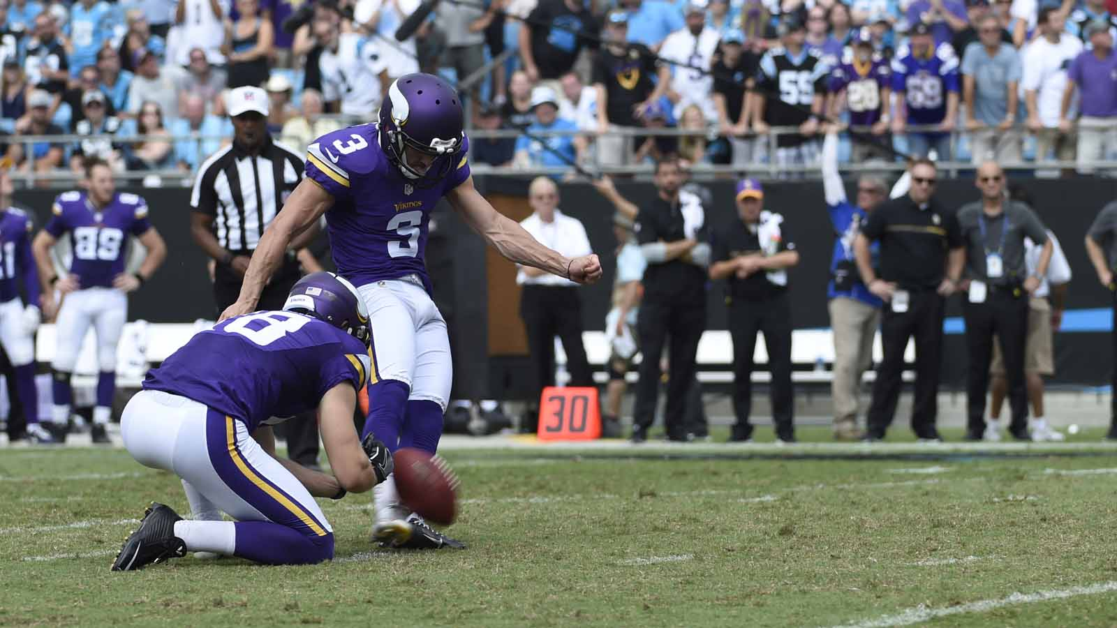 Vikings looking for new options to end four-game losing skid