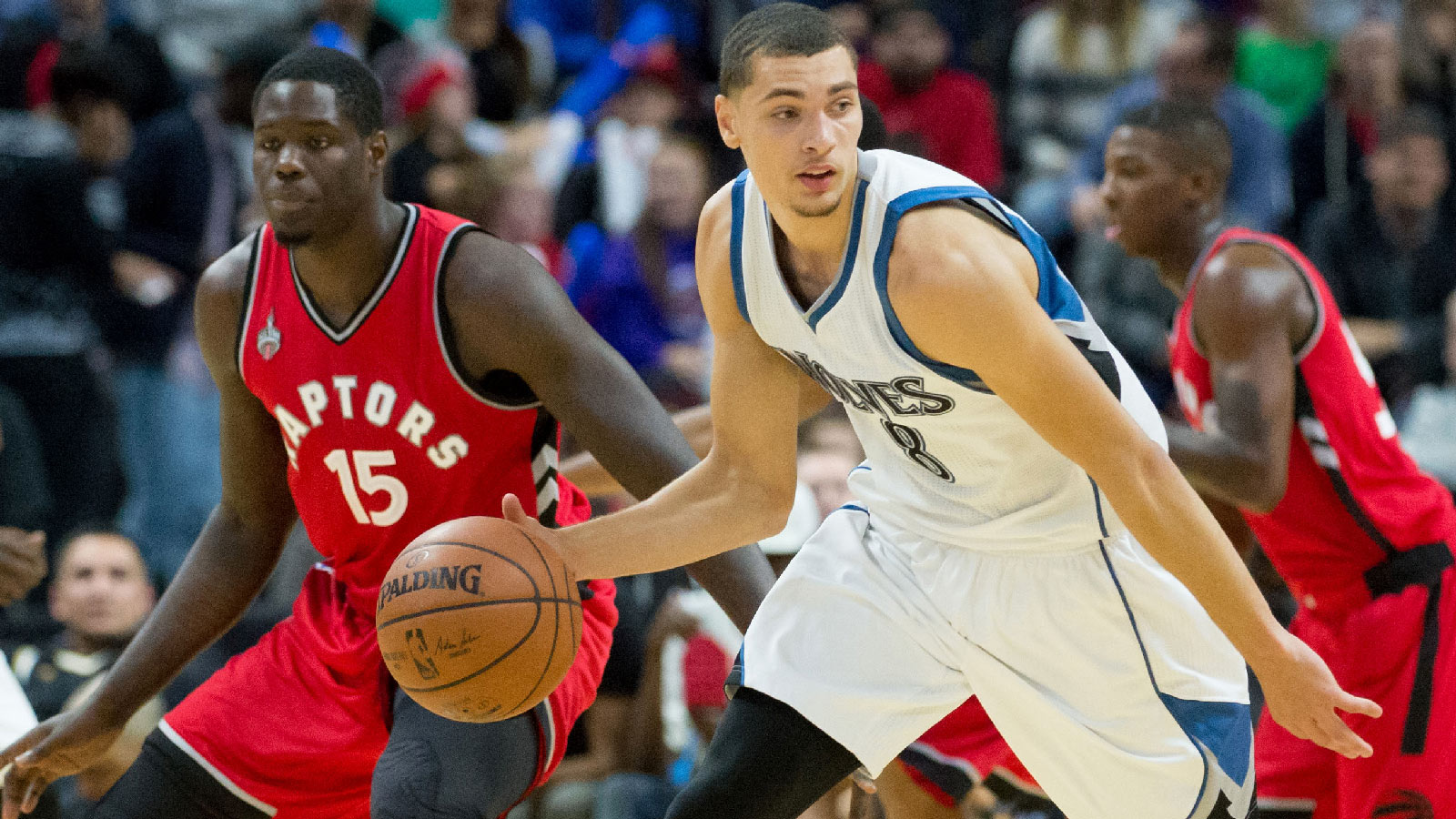 Wolves claw past Raptors in exhibition