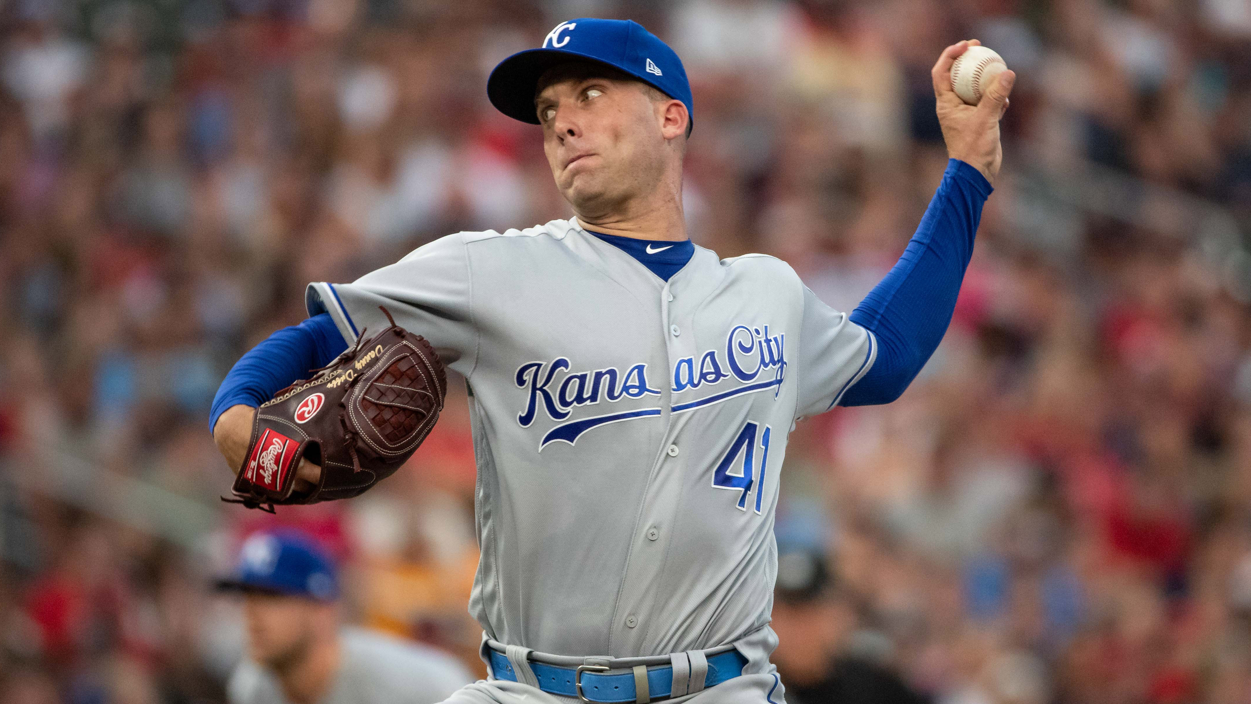 Royals place Duffy on IL, recall Newberry from Storm Chasers