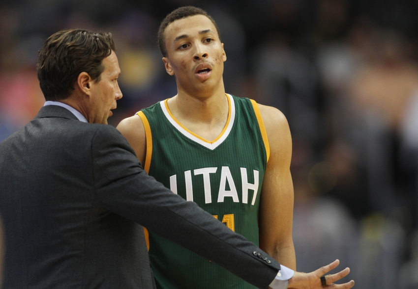Utah Jazz: Is Dante Exum in the Doghouse?