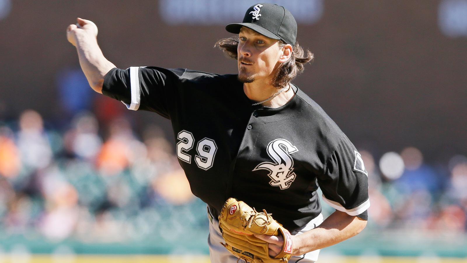 Samardzija's one-hitter leads White Sox over Tigers 2-0 in opener