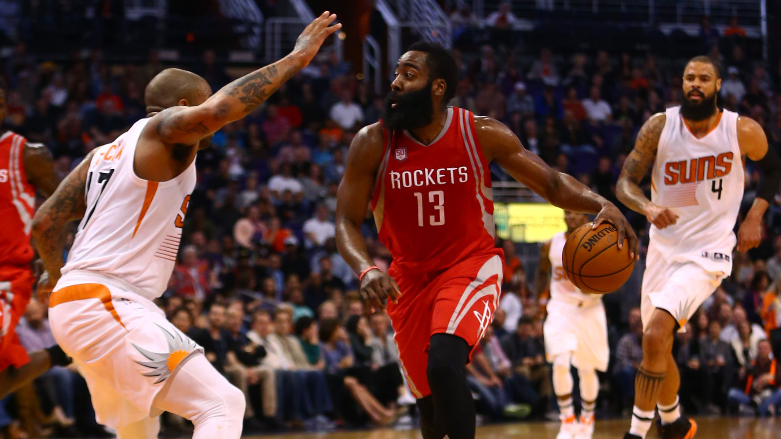 Suns open busy week with defensive test vs. Rockets