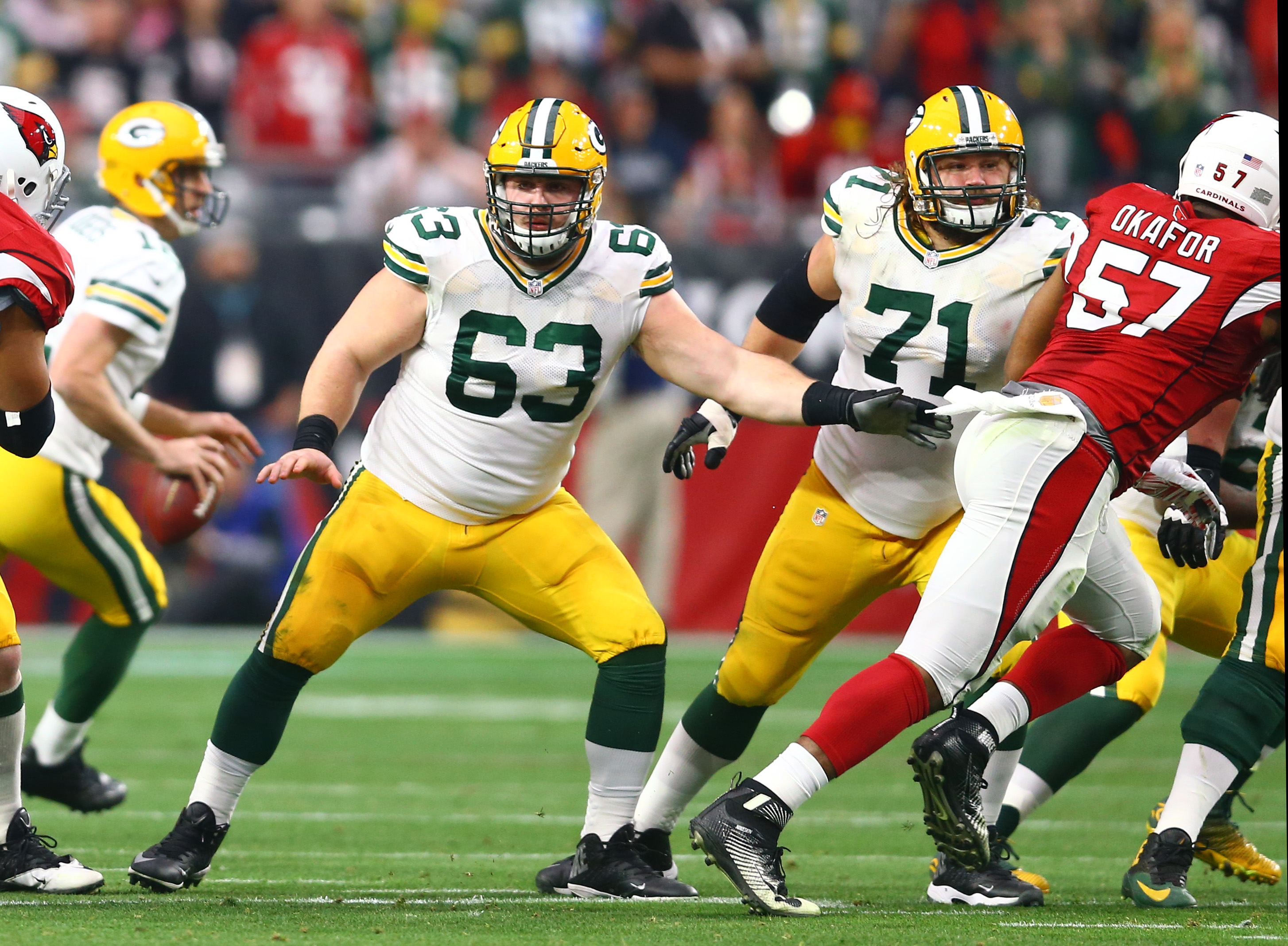 Packers center Corey Linsley comes full circle after injury