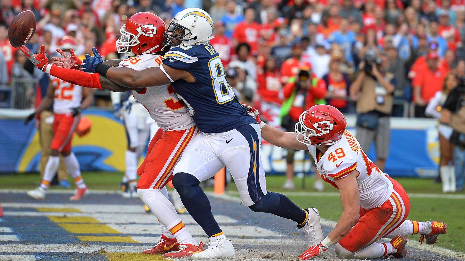 Chargers drop season finale to Chiefs
