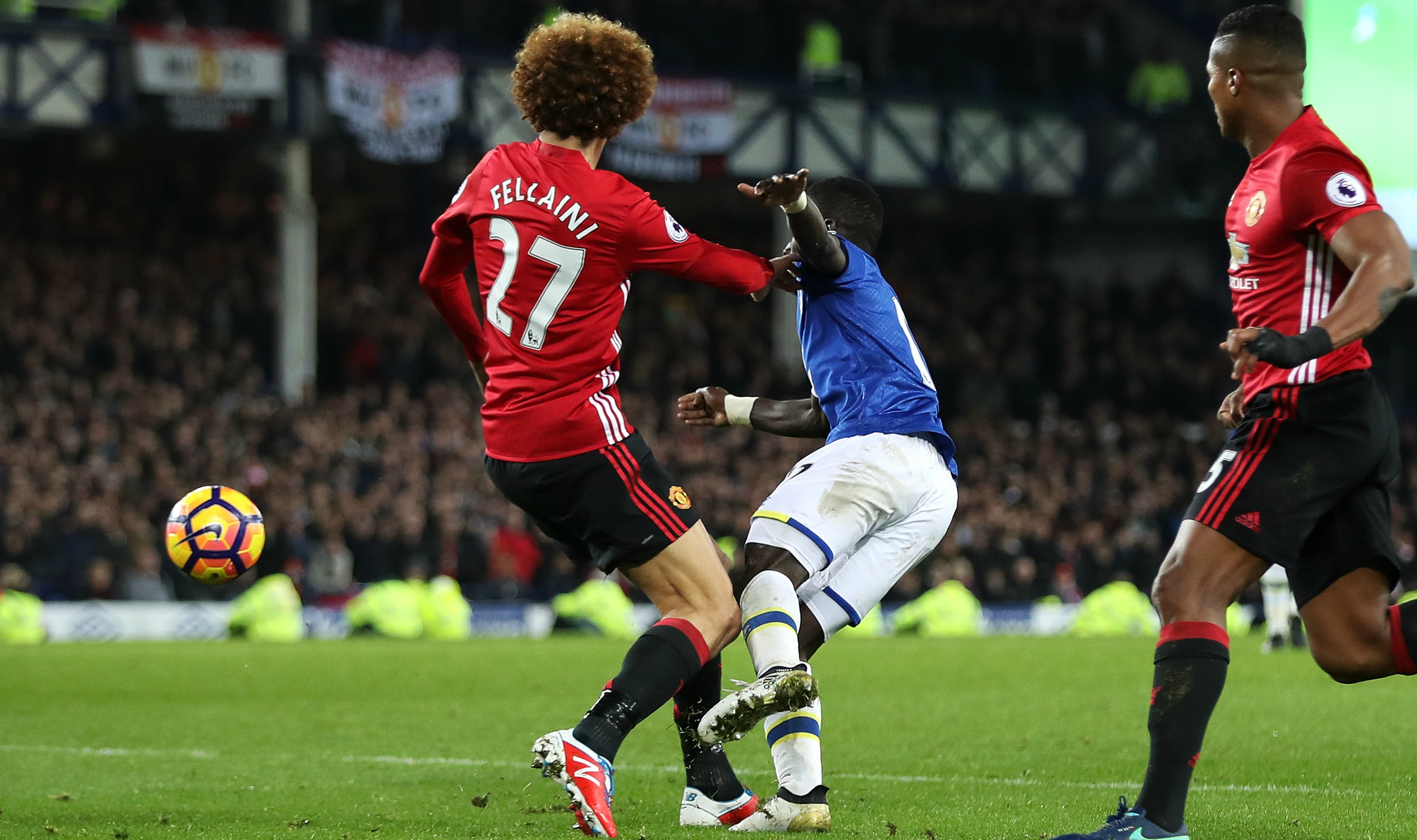 Marouane Fellaini's 100th game perfectly summed up his Manchester United stint
