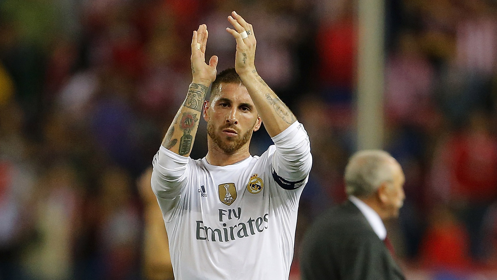 Real Madrid's Sergio Ramos to miss Spain's European qualifiers