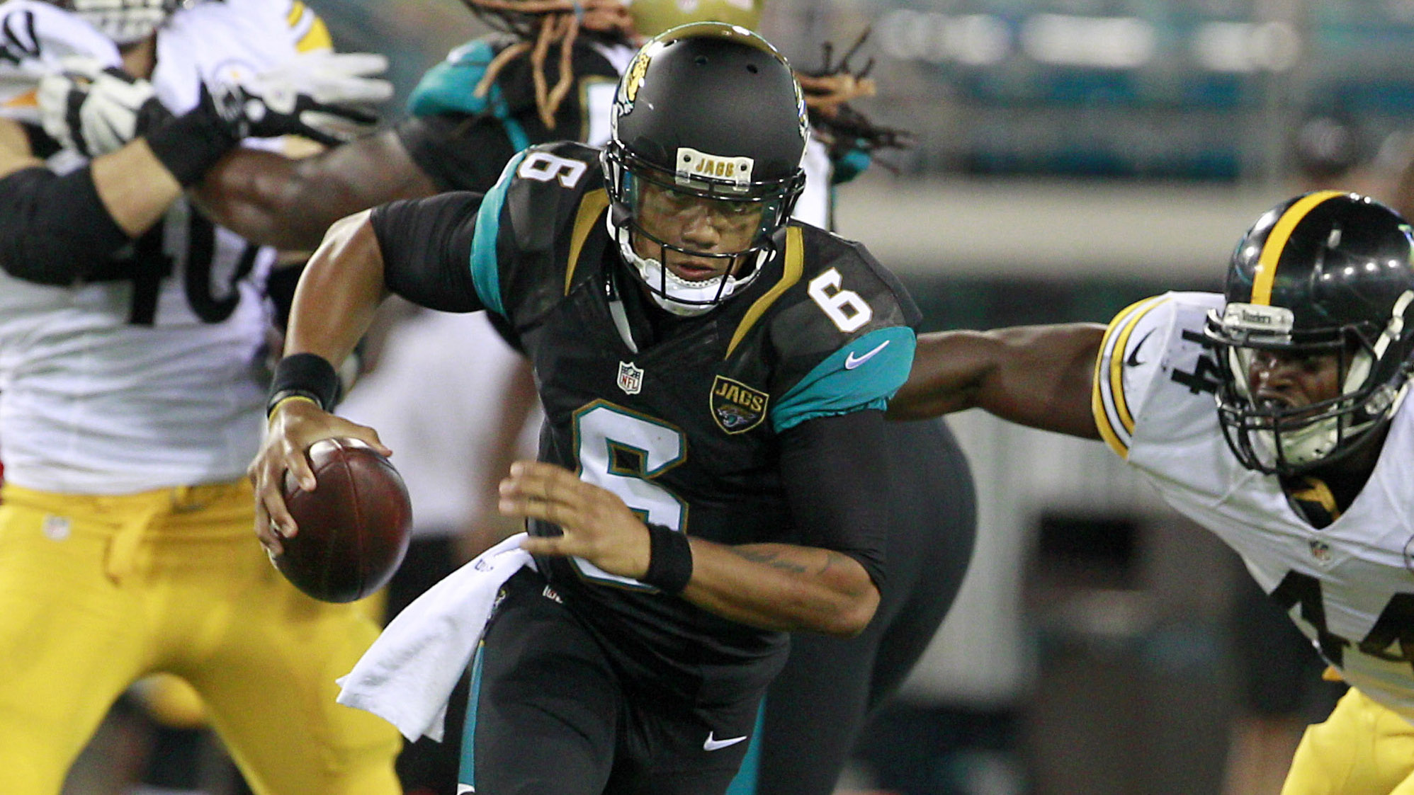 Bortles sharp, Thomas injured in Jags preseason win vs. Steelers