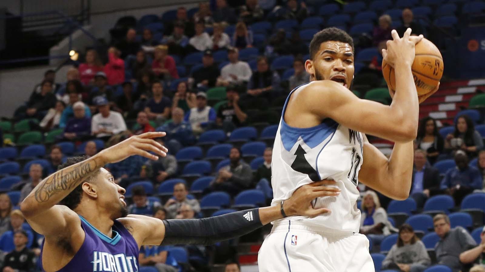 Timberwolves finish preseason by crushing Hornets