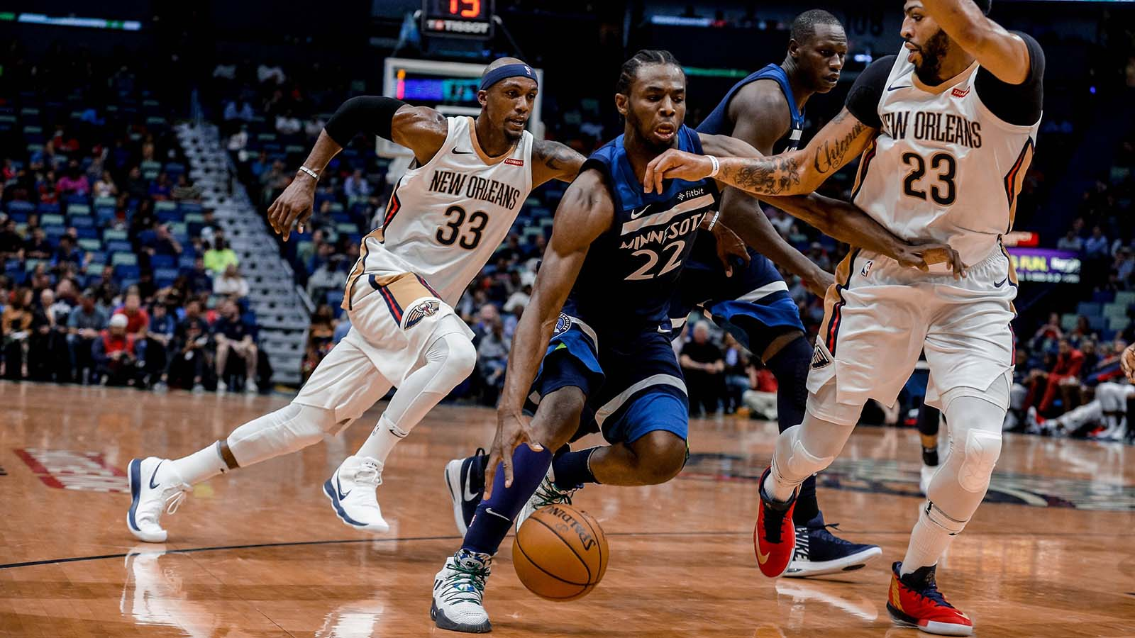 Wolves Twi-lights: Wiggins spins through Pelicans defense