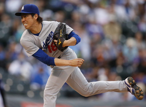The next Nomo? Dodgers' Maeda flirts with no-no, lowers ERA to 0.36