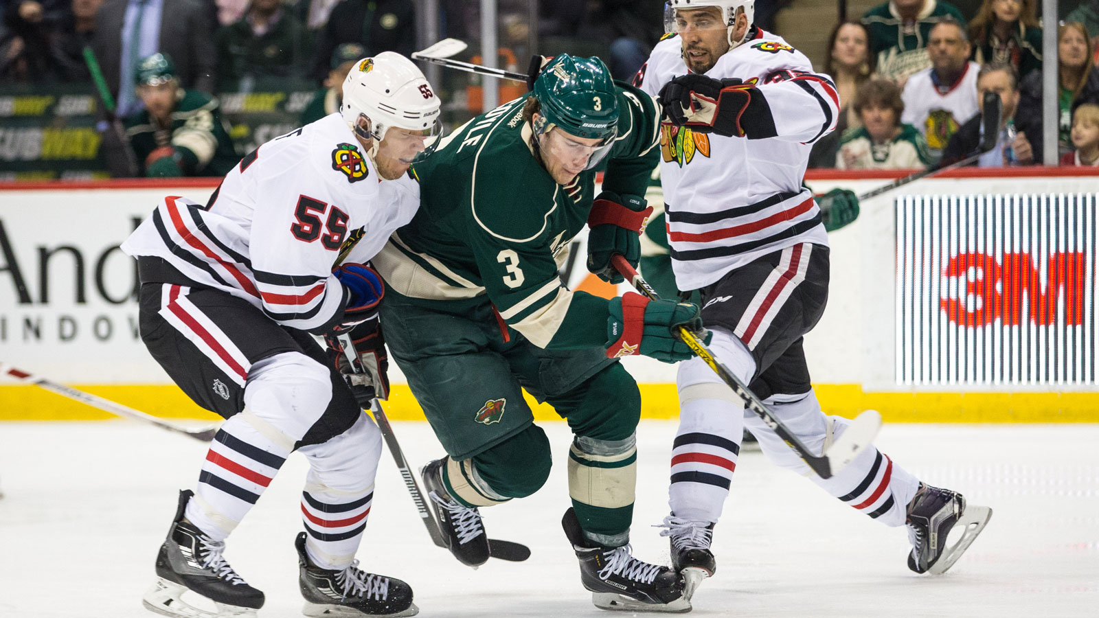 Wild face parity, familiar faces in tough Western Conference