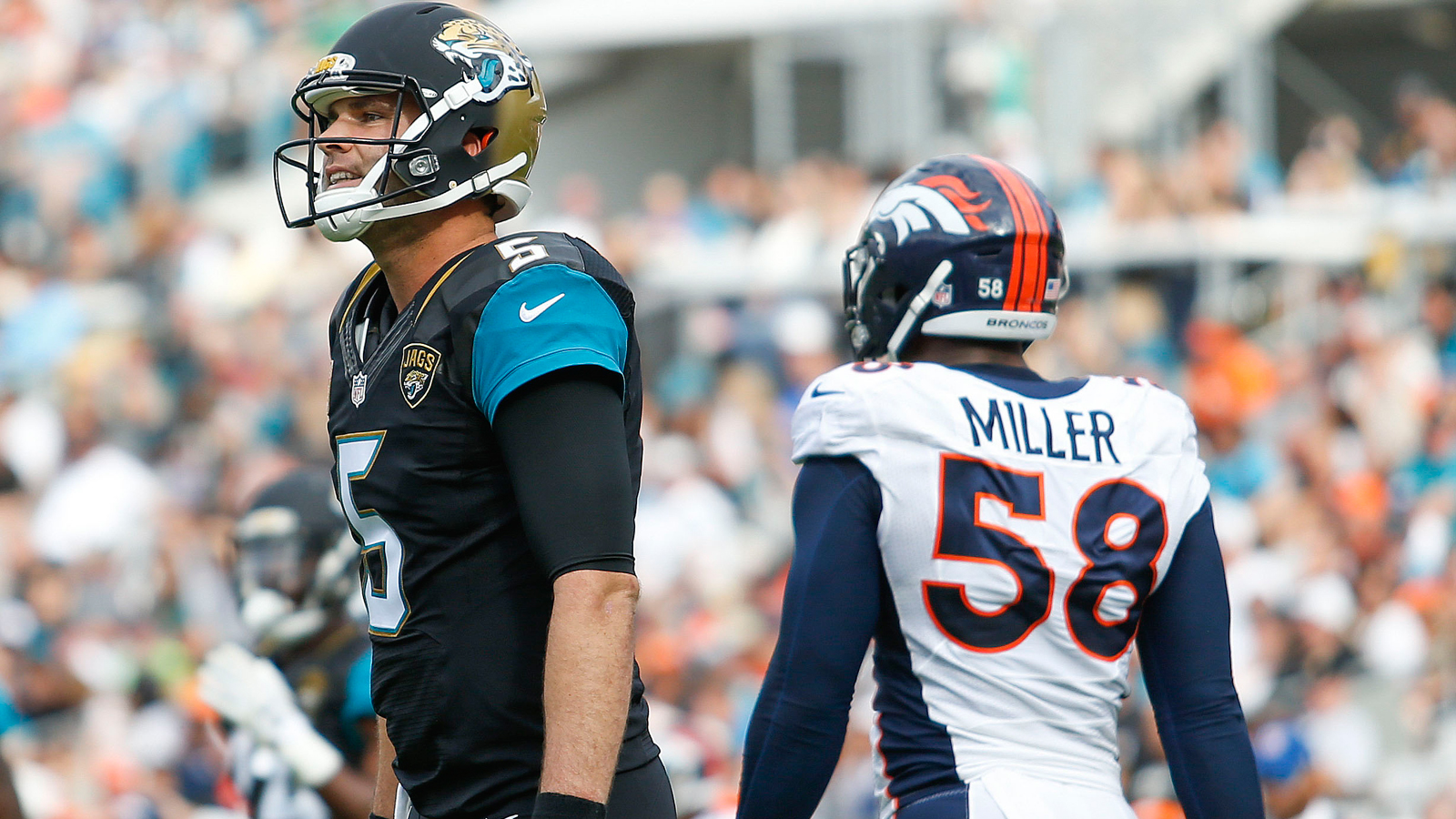 Jaguars can't curb costly mistakes in loss to Broncos