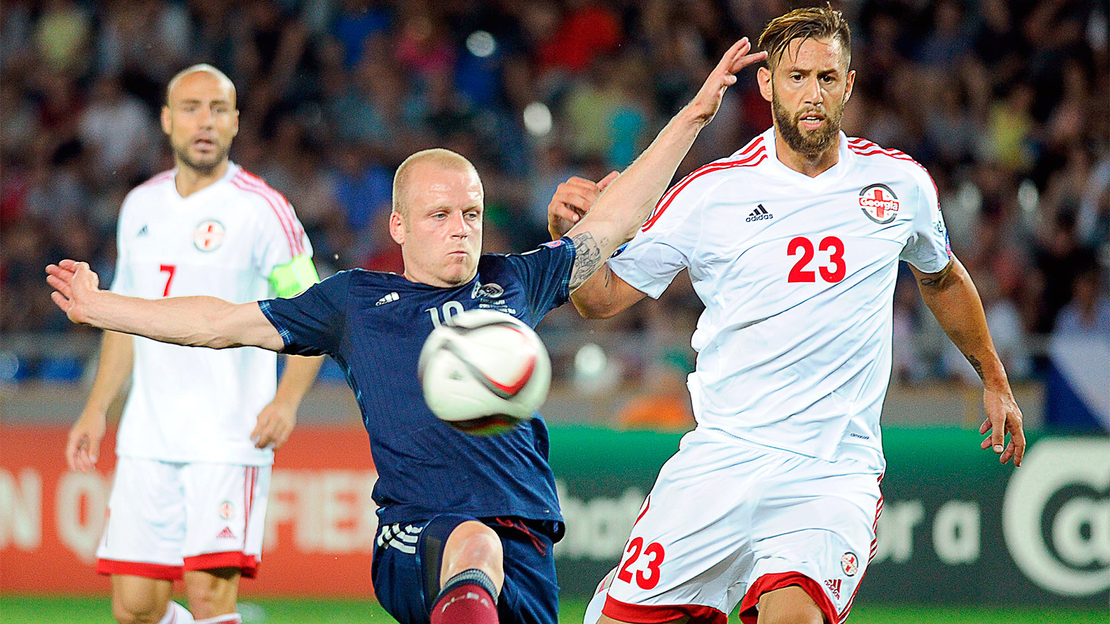 Scotland's Euro 2016 hopes take serious blow with loss at Georgia