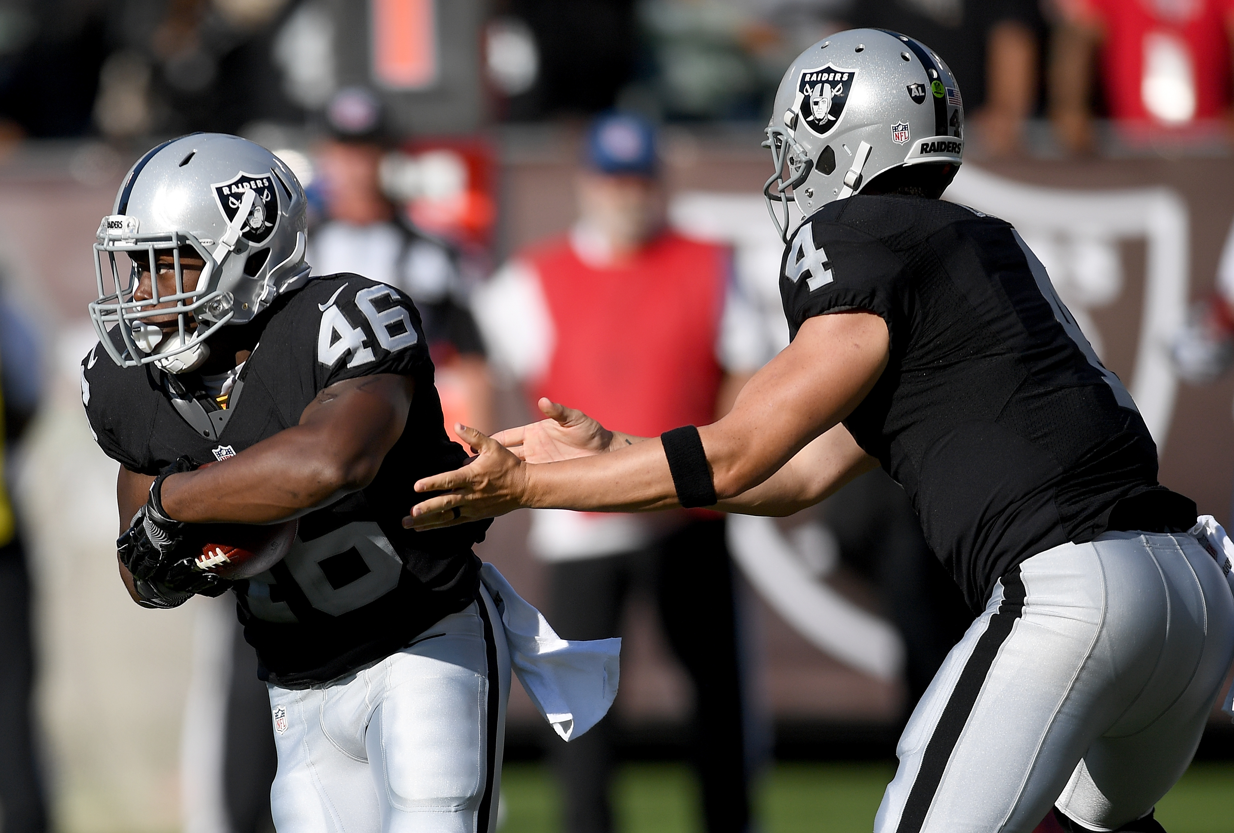 Raiders' Jalen Richard Dices Up Saints for 75-Yard Touchdown (Video)
