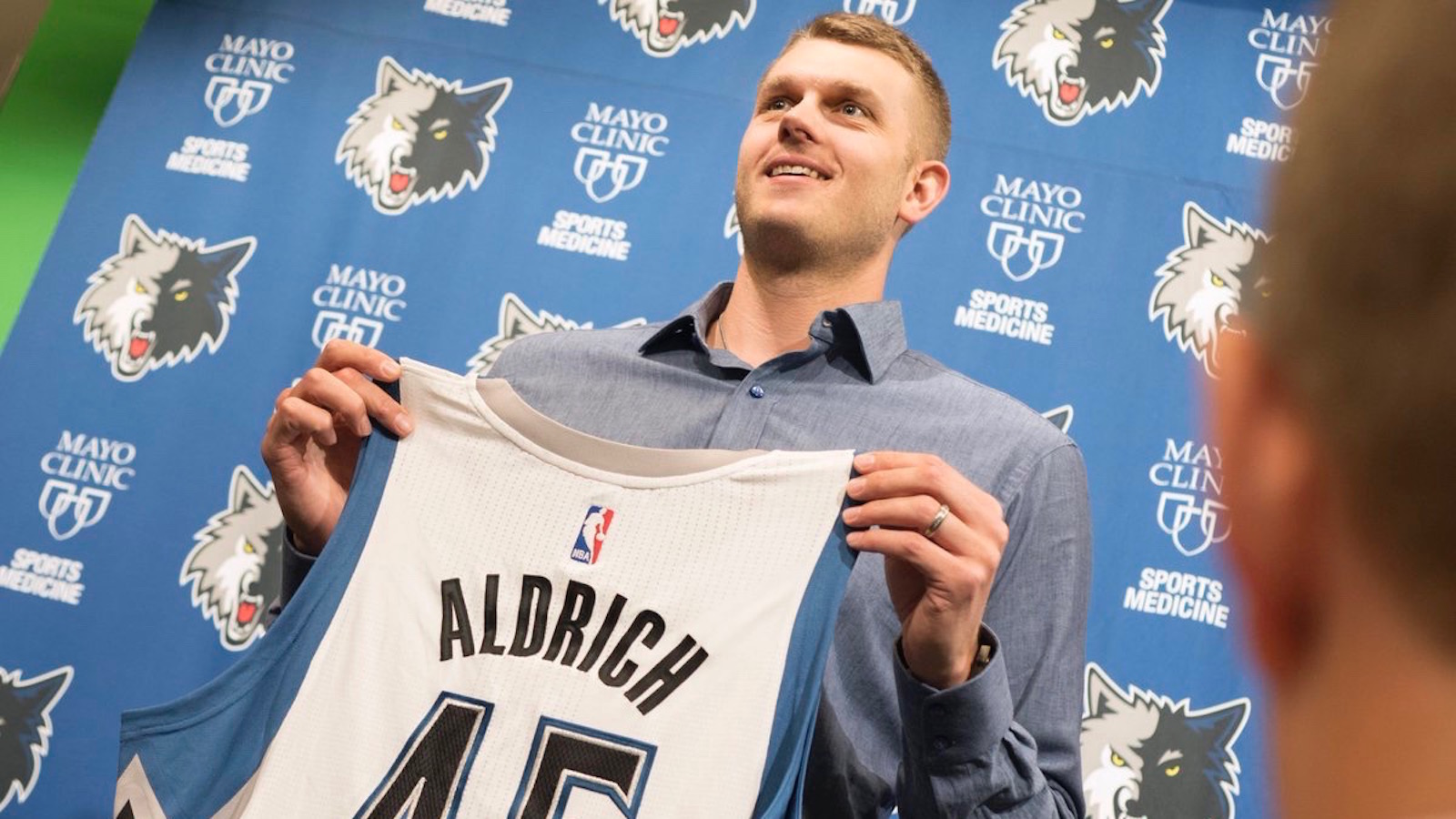 Minnesota native Aldrich fulfills dream by signing with Timberwolves
