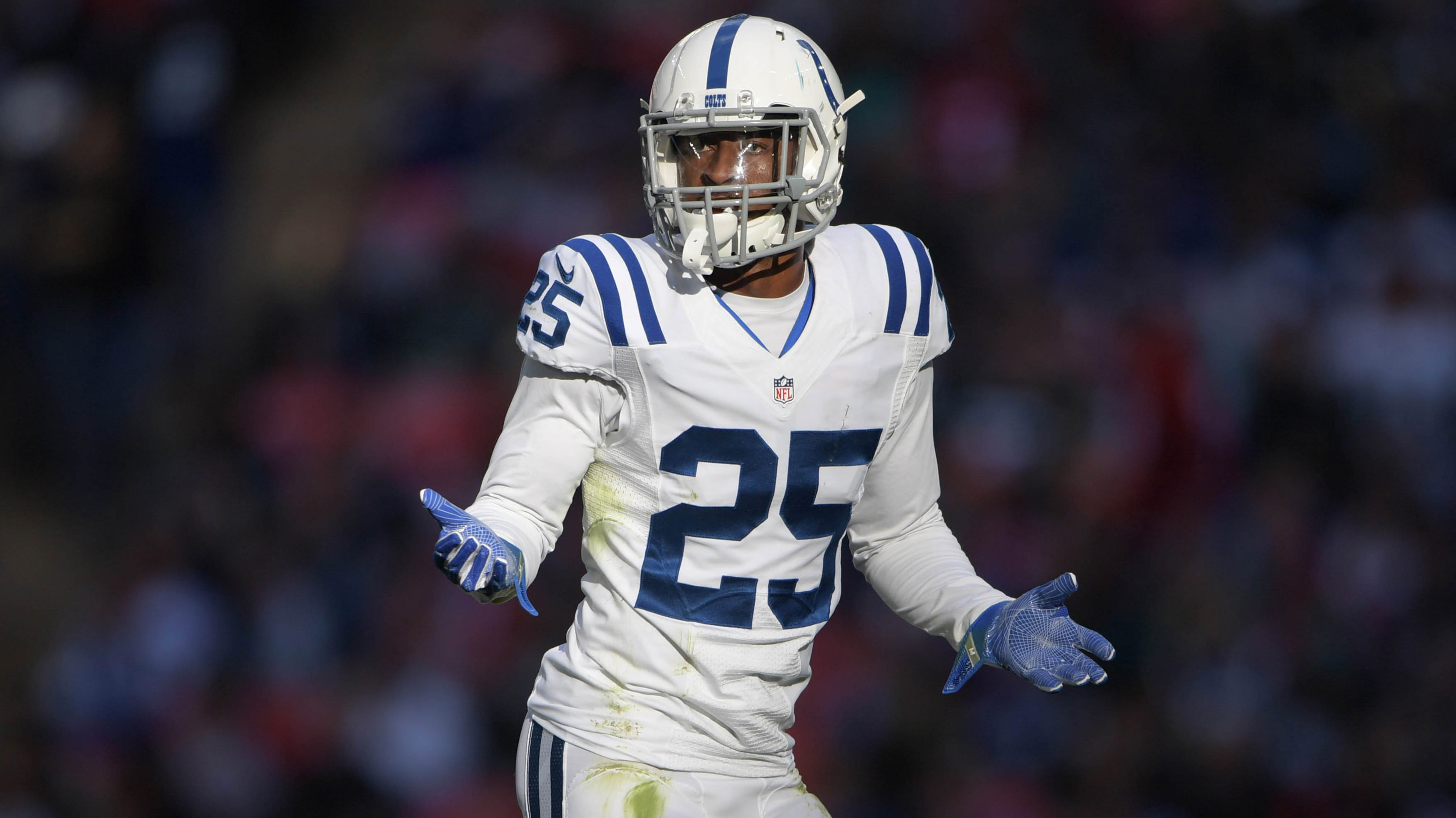Colts cut CB Patrick Robinson