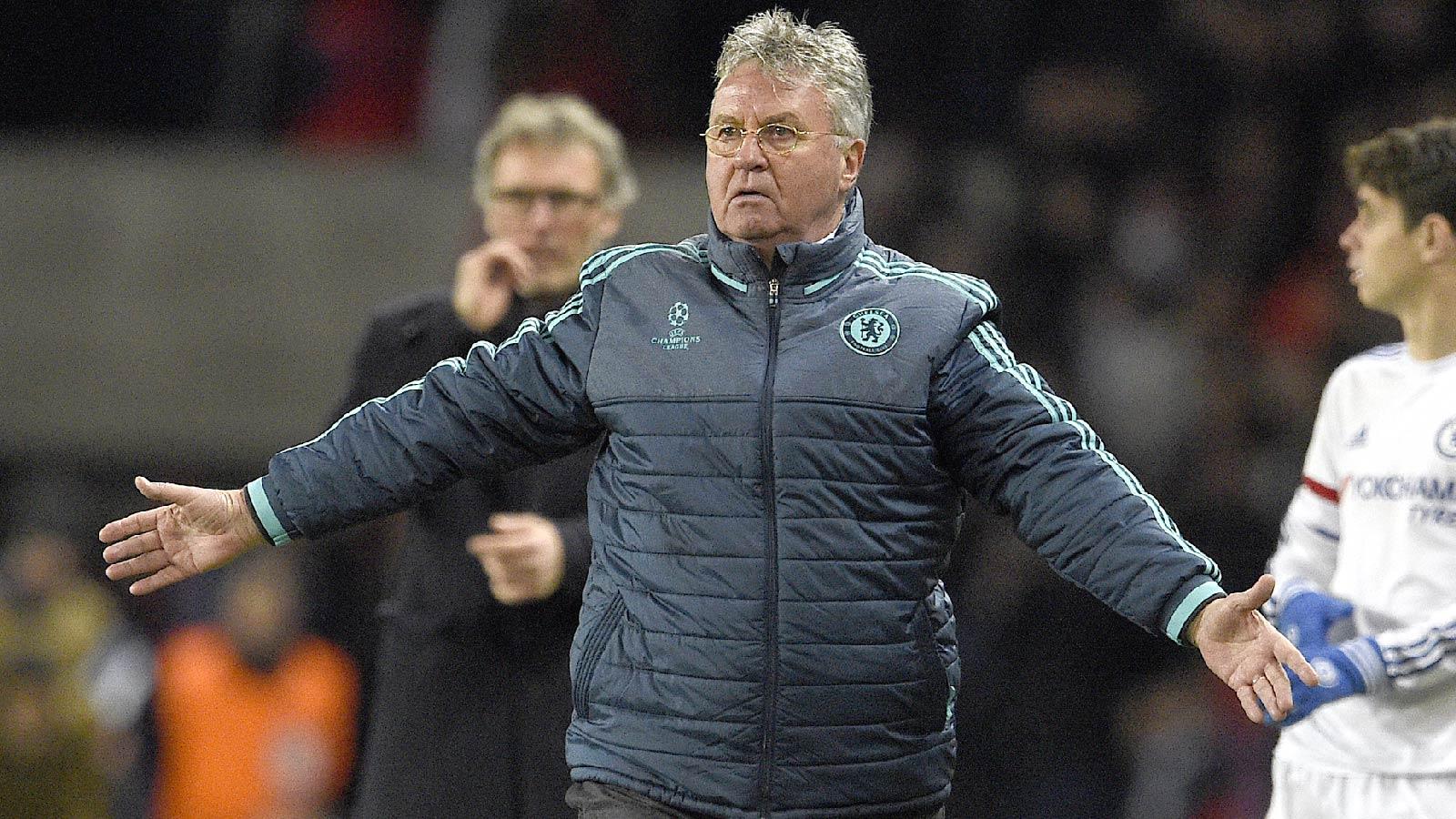 Hiddink says Chelsea's away goal leaves PSG tie at 50-50