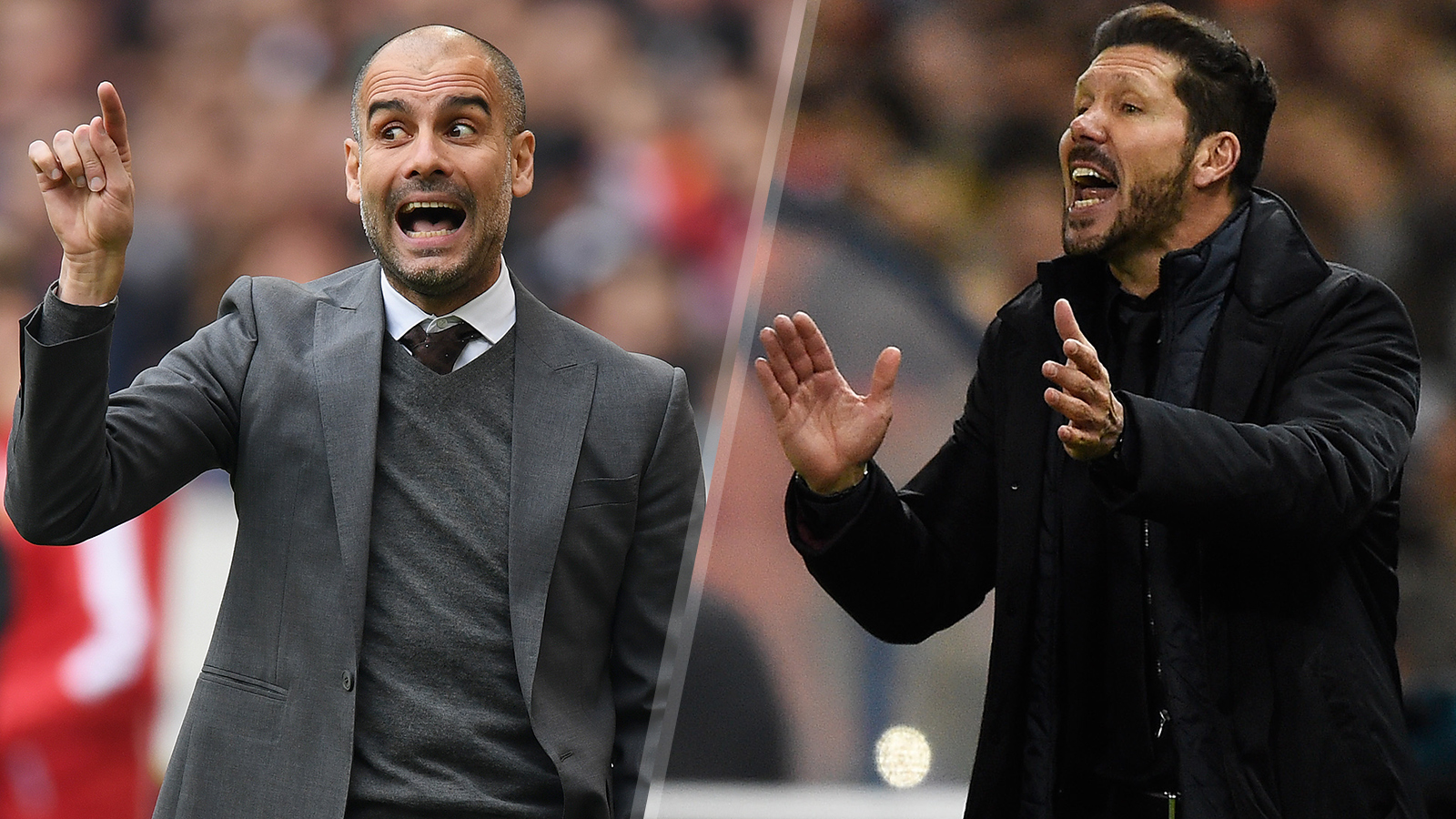 Bayern Munich vs. Atletico Madrid is really a clash of managers and styles