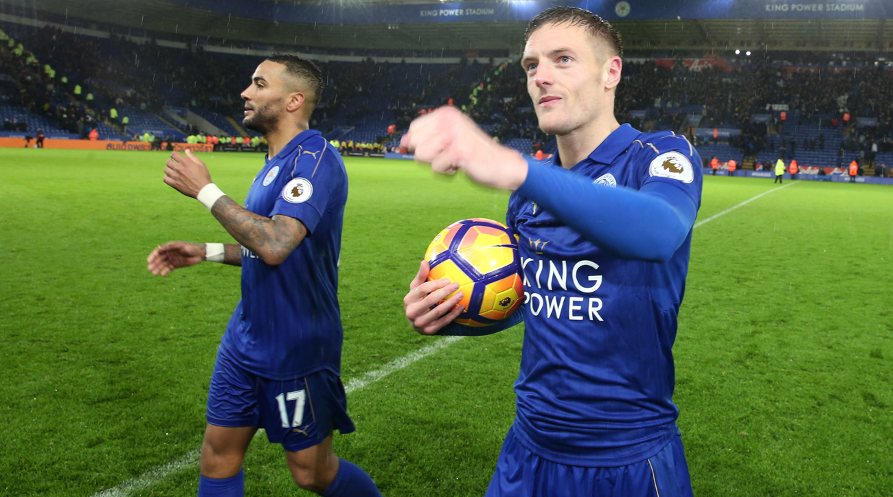 Manchester City plays right into Leicester, Jamie Vardy's hands