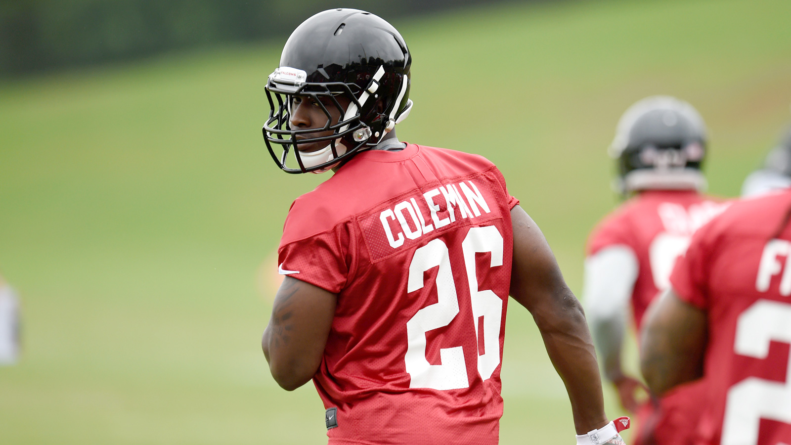 """NFL Quick Hits: Falcons' Coleman """"ready to rock"""""""