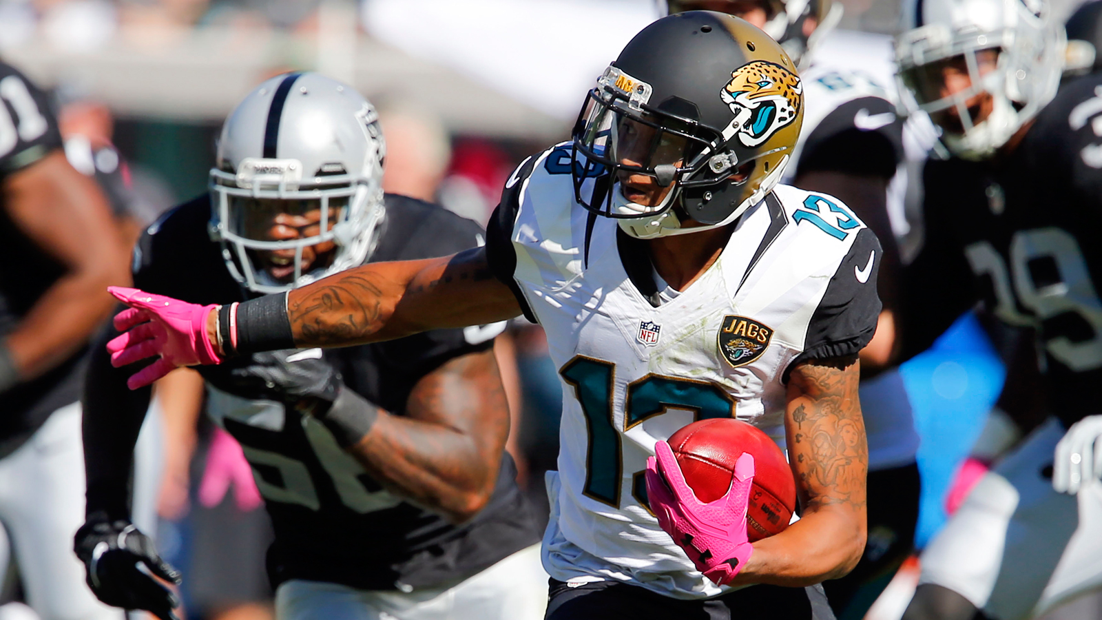 Jaguars place WR Rashad Green on IR with Achilles injury