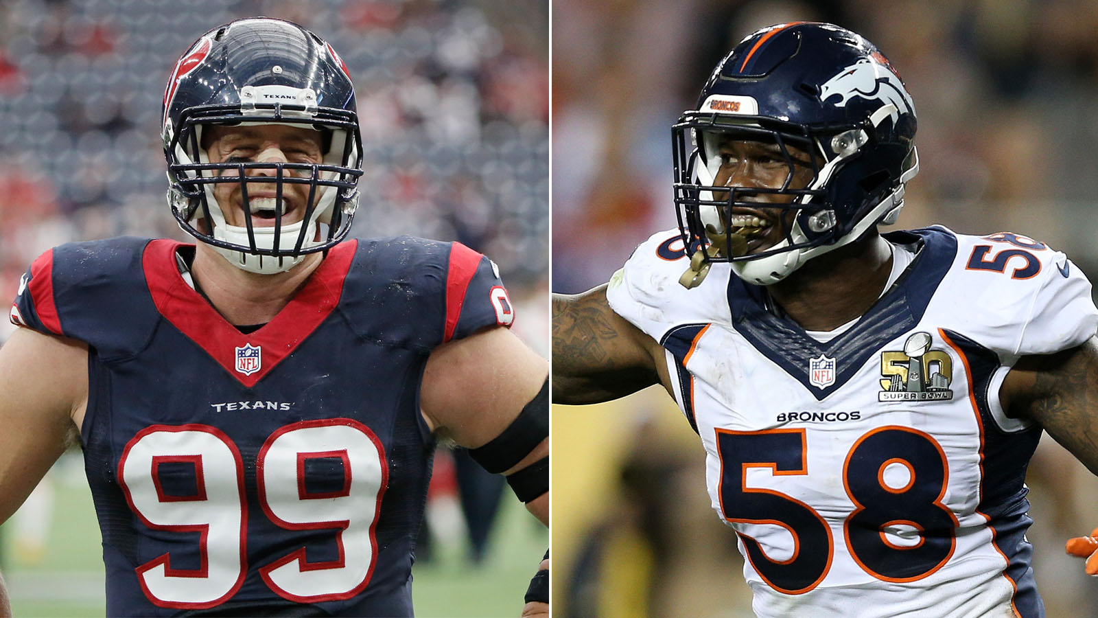 Ranking the top 10 pass rushers in the NFL