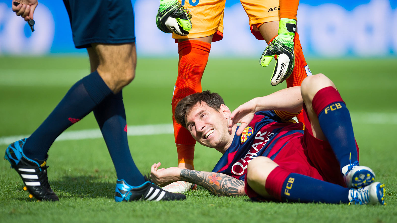 Messi tears knee ligaments, set to miss two months of action