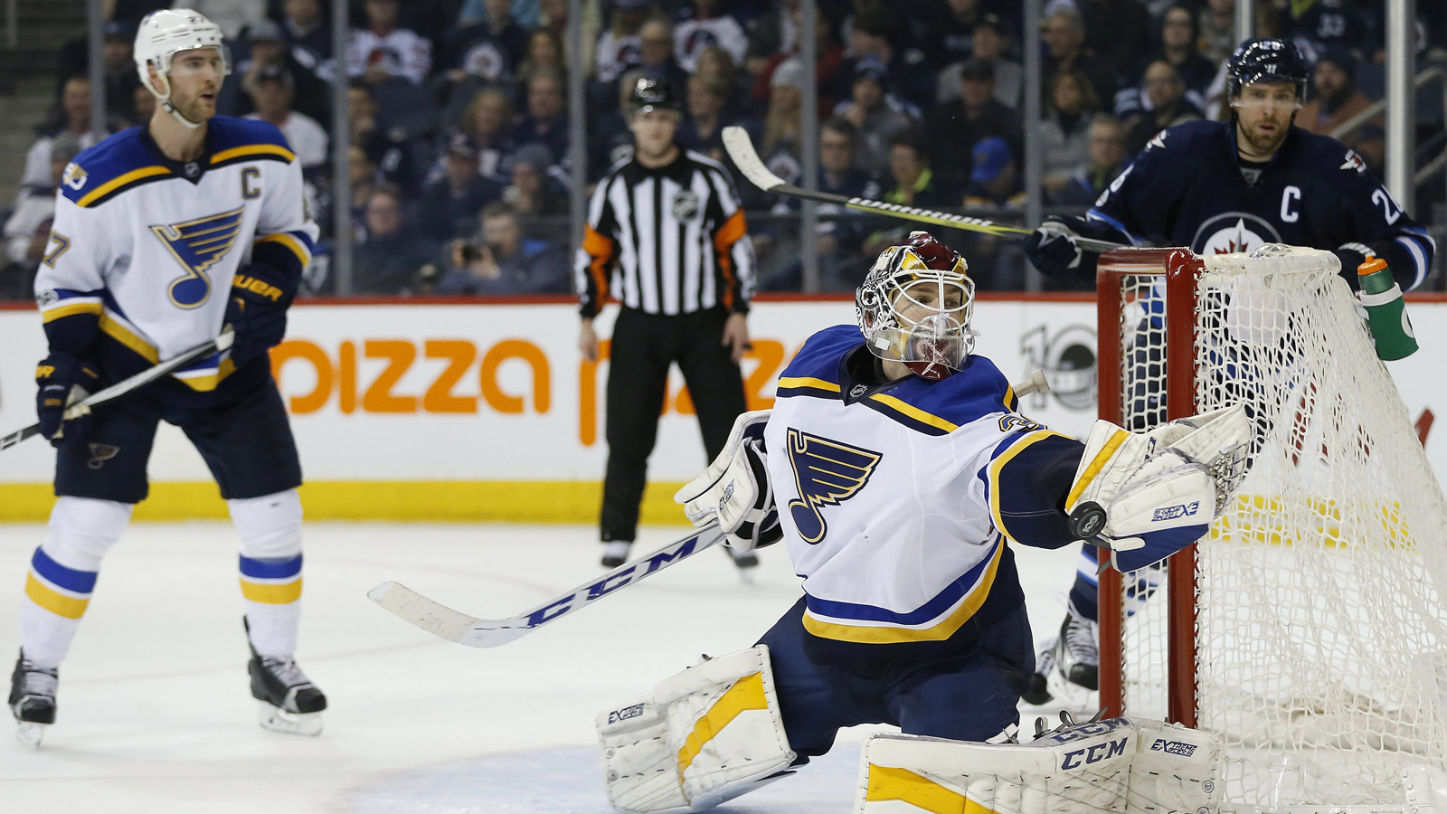 Allen's reset over, Blues send Copley back to AHL