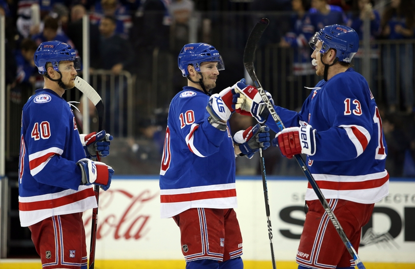 New York Rangers' Hayes, Miller and Grabner have been fantasy hockey studs