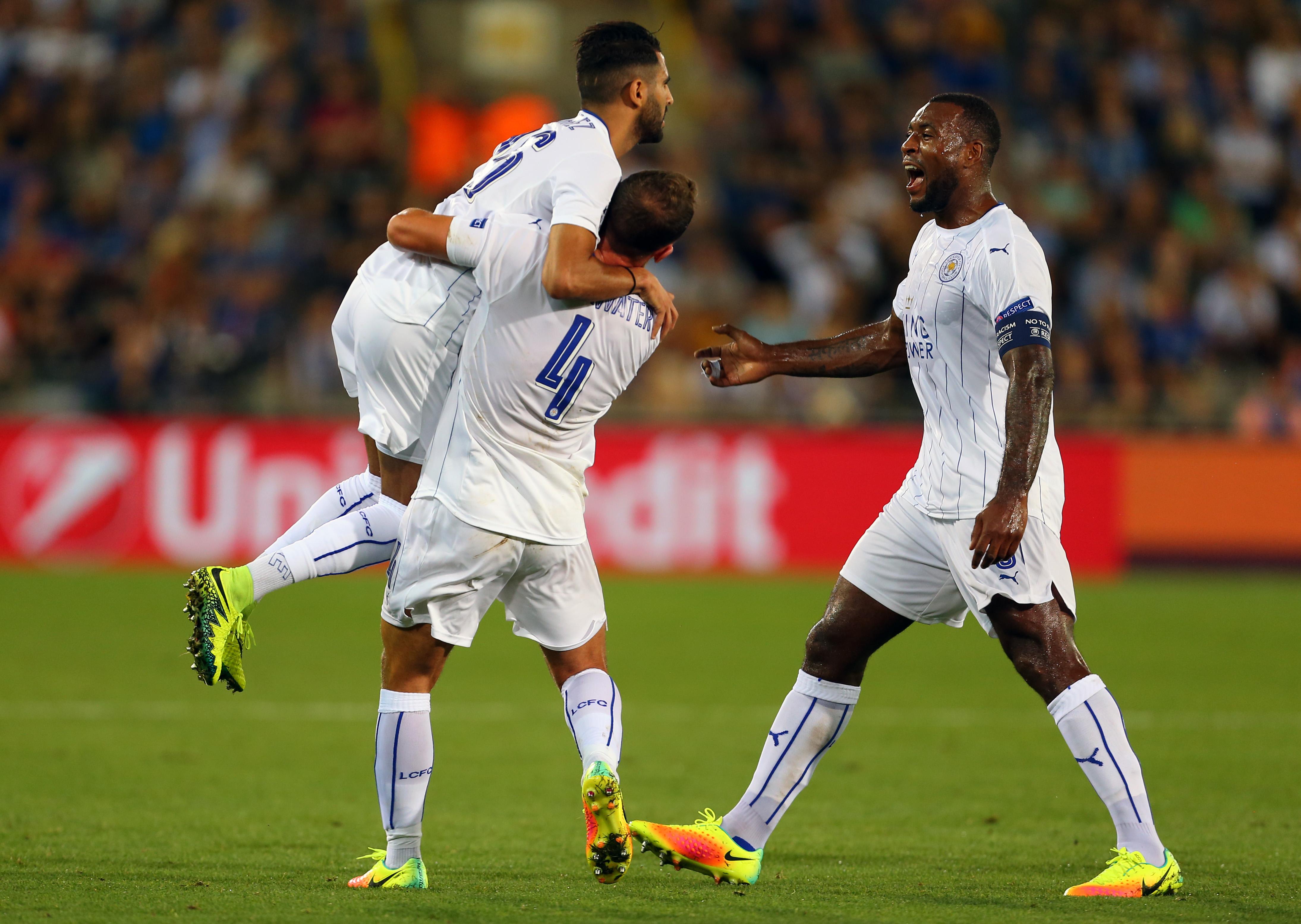 UCL: Leicester stars Albrighton, Drinkwater, Mahrez and Vardy shine