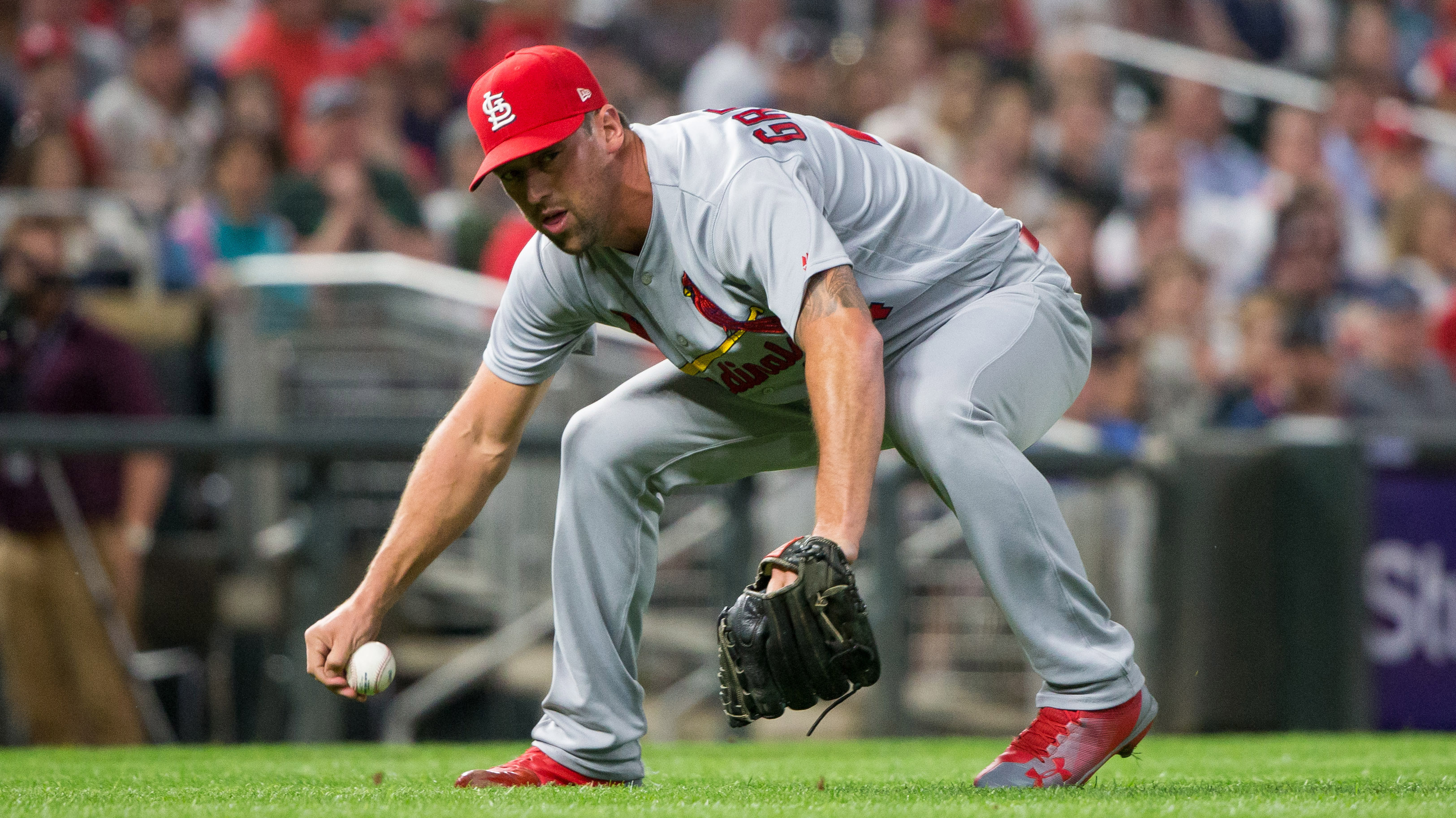 Cardinals activate Gregerson and Lyons, option Weaver and Brebbia to Memphis