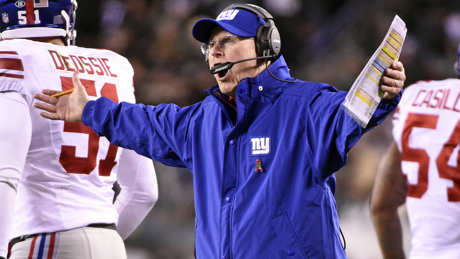 Tom Coughlin on Giants-Eagles game: 'That's bad football'