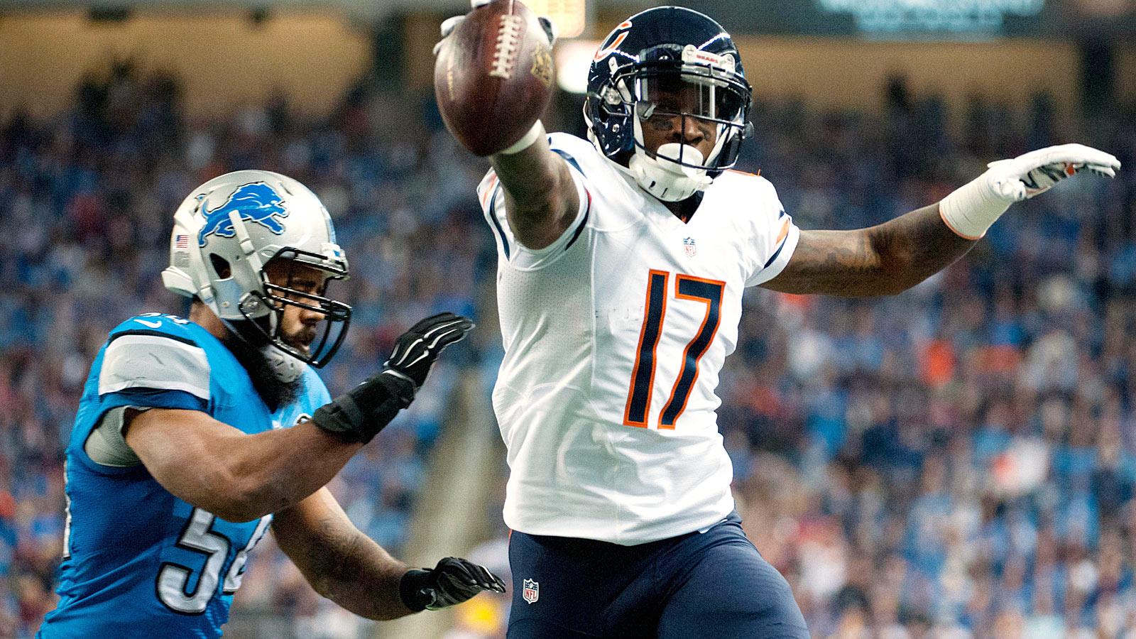 NFL Quick Hits: Bears' Jeffery headlines Week 1 concerns