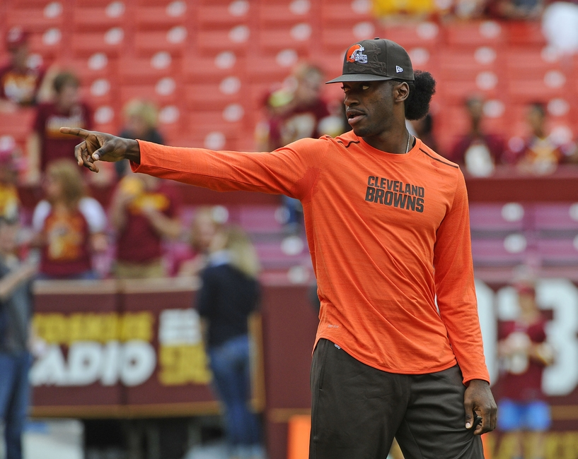 Robert Griffin III could return for Cleveland Browns this season