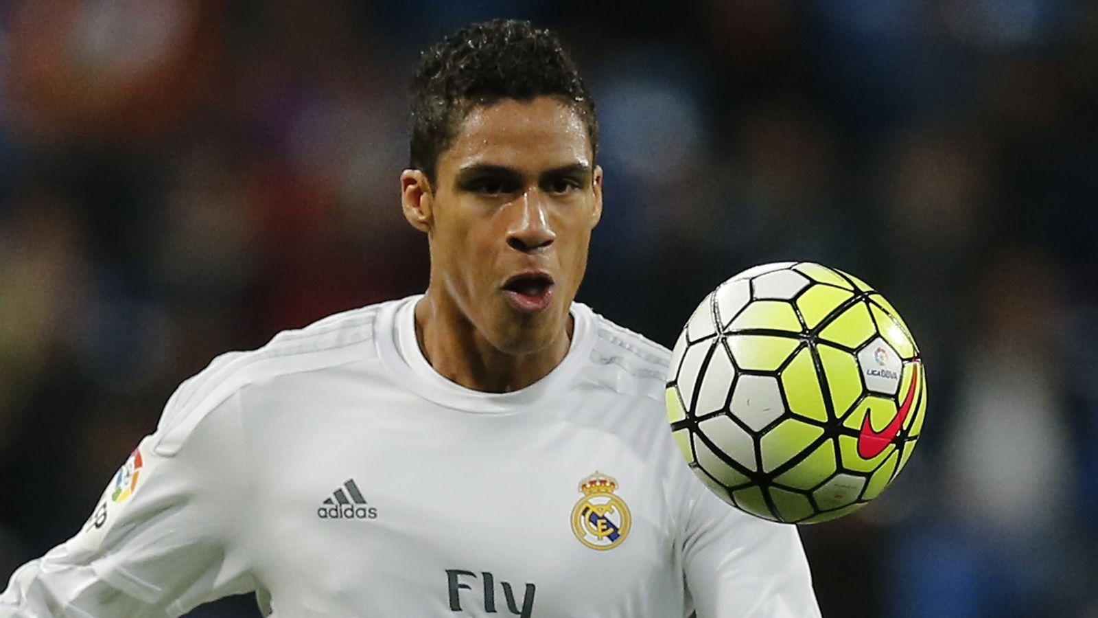 United plot $36million summer move for Real defender Varane
