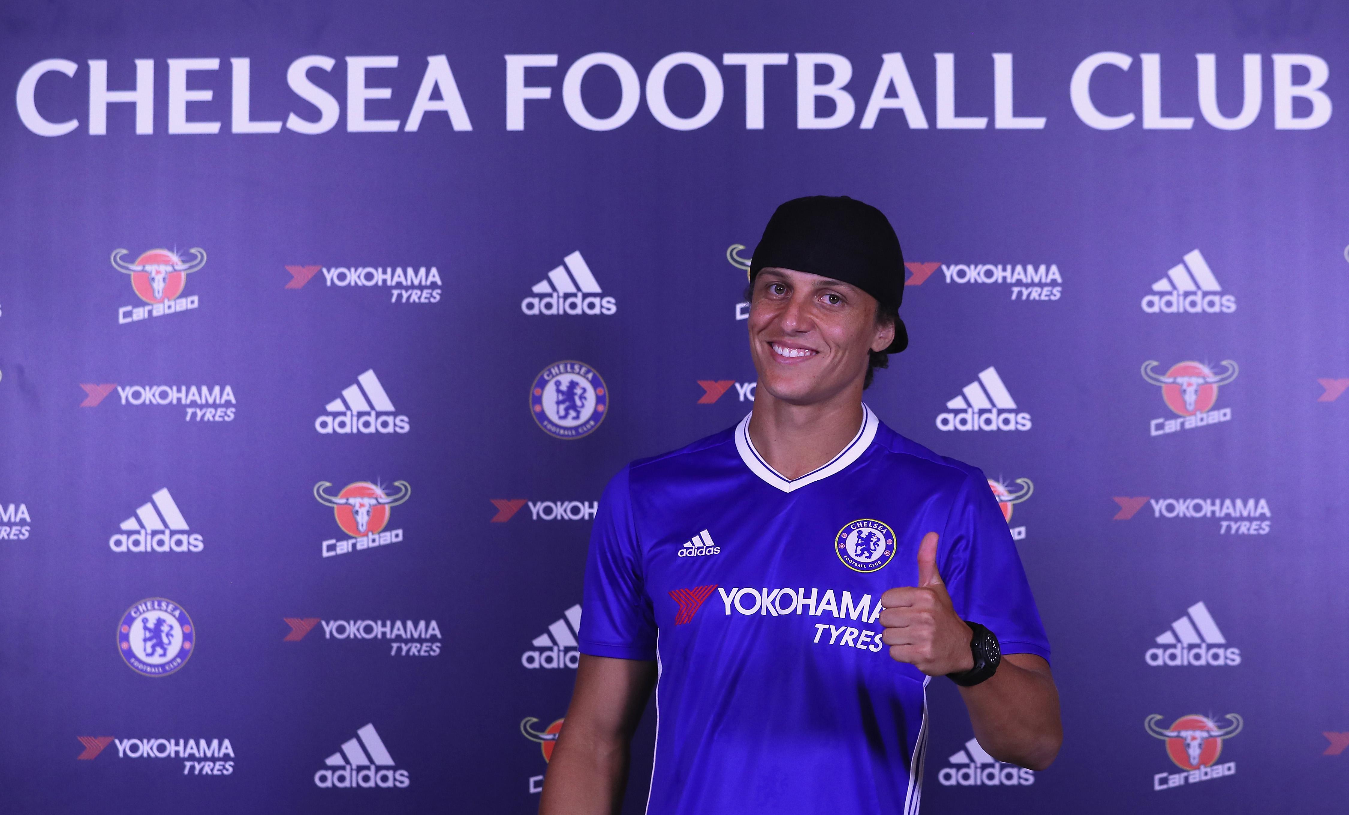 Antonio Conte will make or break David Luiz's Chelsea legacy