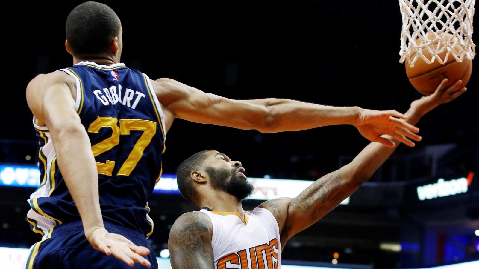 Len, Morris lead Suns to preseason win over Jazz